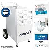 Nemaxx BT55 Bautrockner Kondenstrockner Luftentfeuchter Raumentfeuchter Entfeuchter Trockner (max....