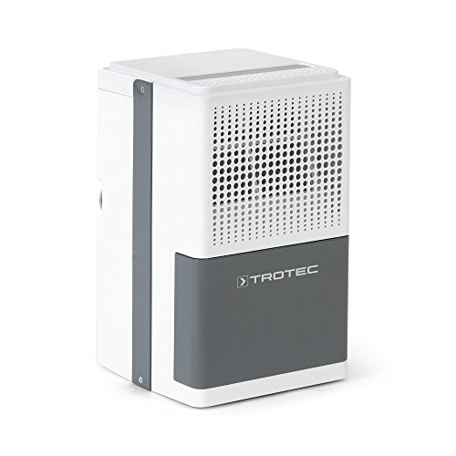 TROTEC Komfort Luftentfeuchter TTK 25 E (max.10 L/Tag), geeignet für Räume bis 37 m³ / 15 m²