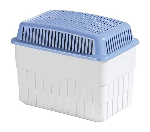 WENKO Feuchtigkeitskiller mit 1 kg Granulatblock, Raumentfeuchter, fasst bis zu 1,4 l Feuchtigkeit,...