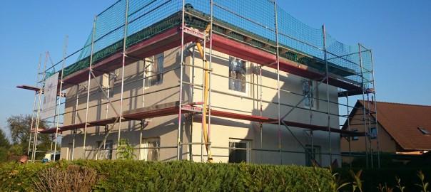 Dach, Fenster und Fassade - Unser Hausbau