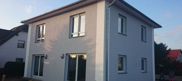 Graue Fassade dach fenster und fassade unser hausbau tagebuch 3
